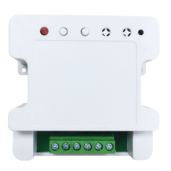 Two channel intelligent curtain control box