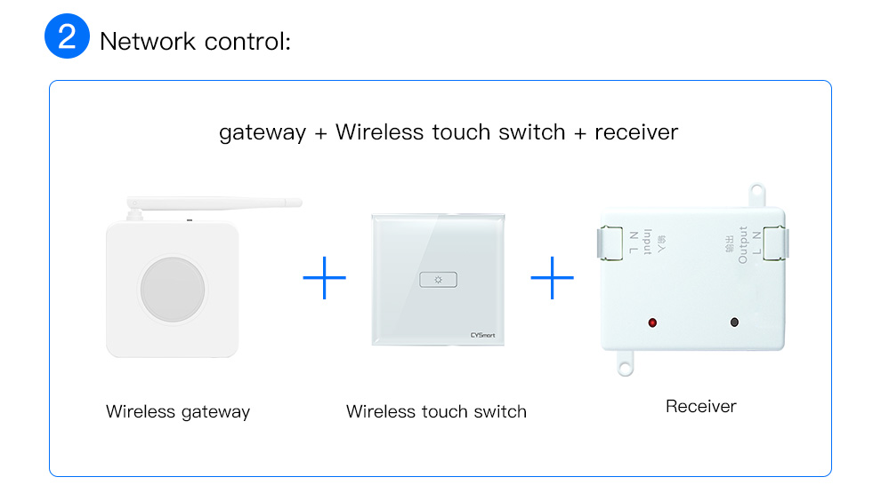 Smart Wireless Touch Swtich