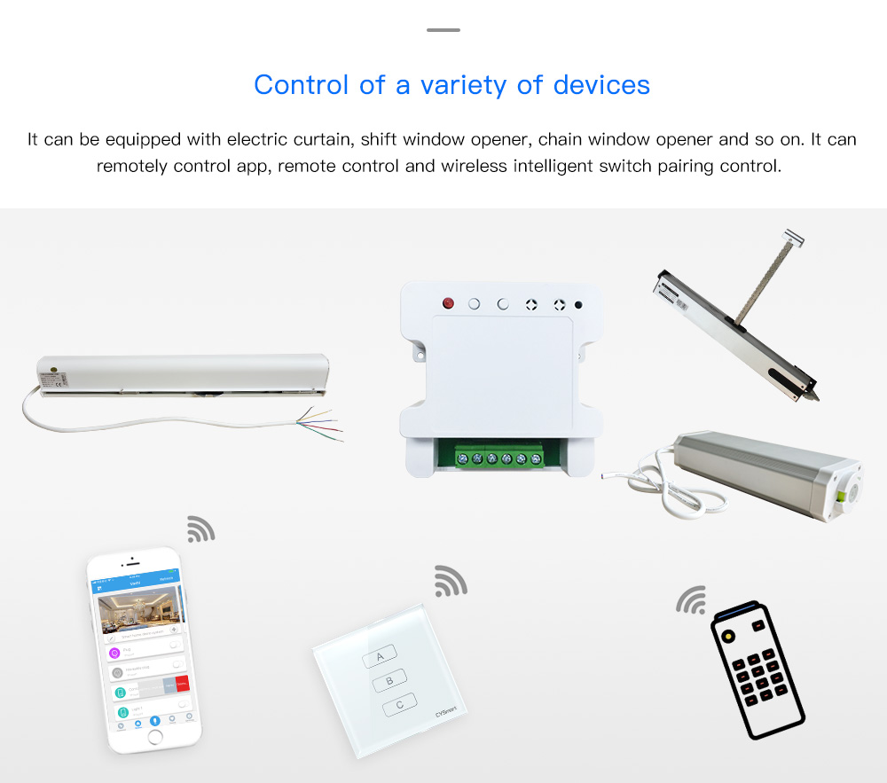 Smart Curtains Controler